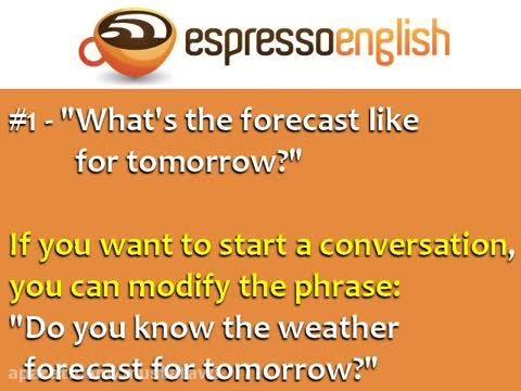 آموزش اصطلاحات رایج زبان انگلیسی (هواشناسی) 8