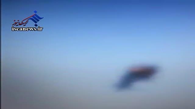 فیلم سرنگونی هواپیمای روسی توسط داعش