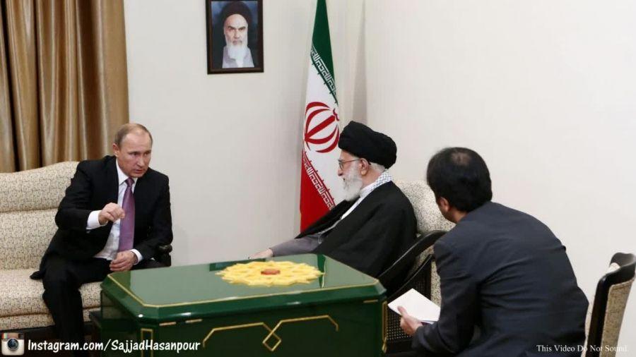 عکسهای دیدار ولادیمیر پوتین با رهبر معظم انقلاب کیفیتHD