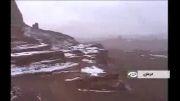 تصاویر برف در کویر شهداد, گرمترین نقطه زمین
