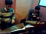 اجرا استادم اجرای سنتور توسط استادم  با شاگردش - خیلی زیبا ست