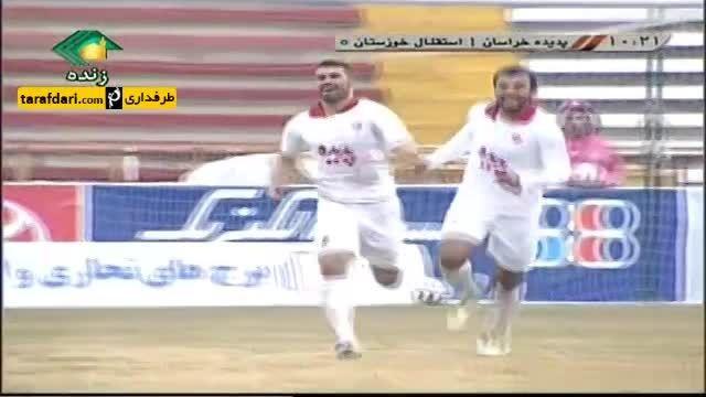 گل های بازی پدیده ۱-۱ استقلال خوزستان