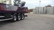 جدیدترین تکنولوژی - کامیون هایی که چرخ های تریلی هم میچرخند