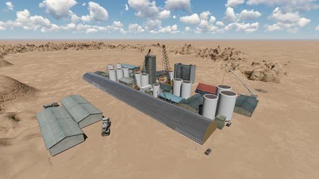 فیلم سه بعدی کارخانه سیمان دامغان «تویه دروار»