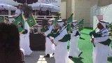 نی انبان در دبی به شکل اسکاتلندی 2011