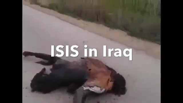 سوزاندن وحشتناک مردم توسط داعش