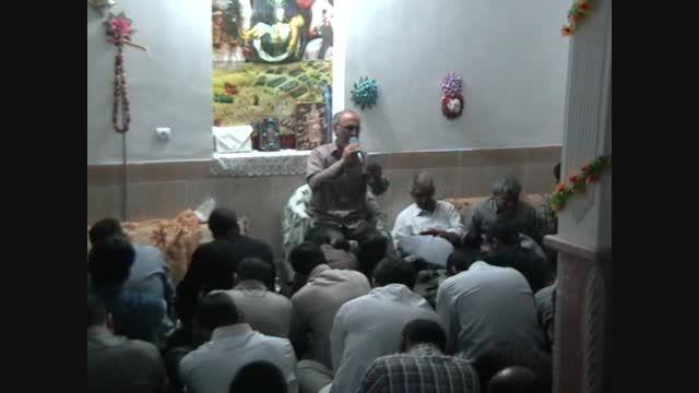 اشعار پندآموز و روضه حضرت علی اکبر  حاج ابراهیم کاظمی