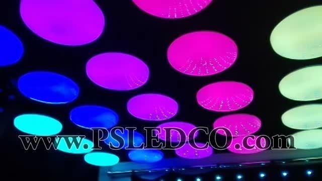 حباب رنگی  LED سقف مناسب جهت تالارهای عروسی