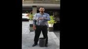 دعوت ایمان پاکزادیان مقدم برای حضور در چالش سطل آب یخ