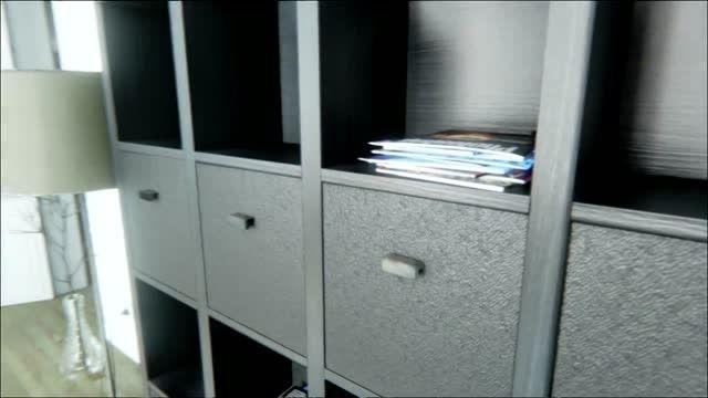 طراحی محیط داخلی خانه بوسیله موتور بازی سازی Unreal 4