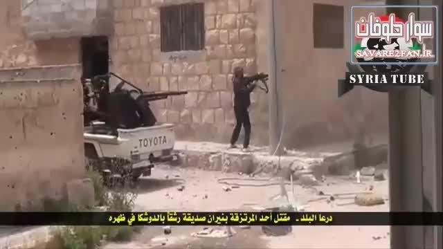 کشته شدن داعشی بدست یک داعشی دیگر!