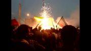 جشن صعود تیم ملی فوتبال به جام جهانی 2014 برزیل