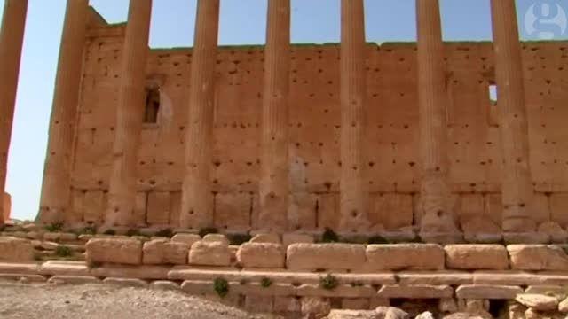 معبد بل سوریه قبل از تخریب توسط داعش