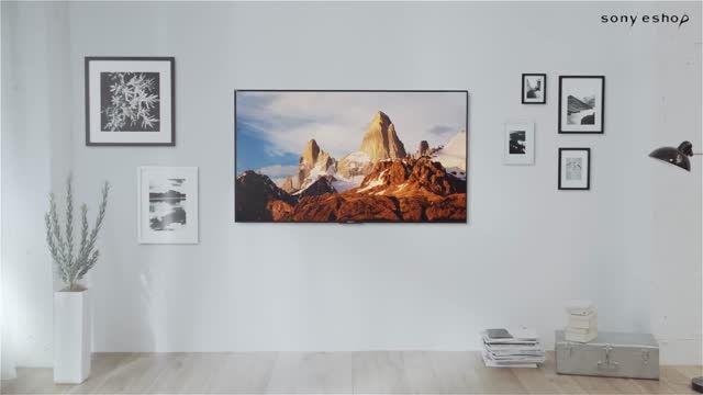 چگونه تلوزیون های سری x90C را بر روی دیوار آویزان کنیم