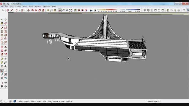 طرح معماری 2.....مدرسه یا دبیرستان....کلیپ معرفی