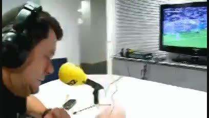 ناراحتی گزارشگر بازی رئال و والنسیا از عقب افتادن رئال