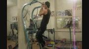 تمرینات یک ورزشکار نیمه حرفه ای