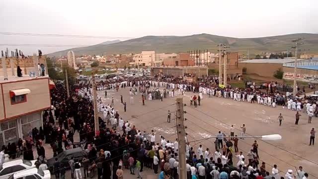بزرگترین مراسم رقص چوب(چوب بازی) در استان گلستان