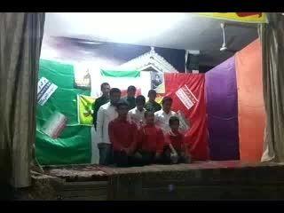 دانش آموزان بسیجی روستای مز« سرود ای ایران» بهمن 93