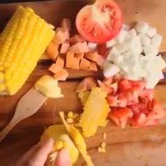درست کردن خوراکی های ساده وخوشمزه 2