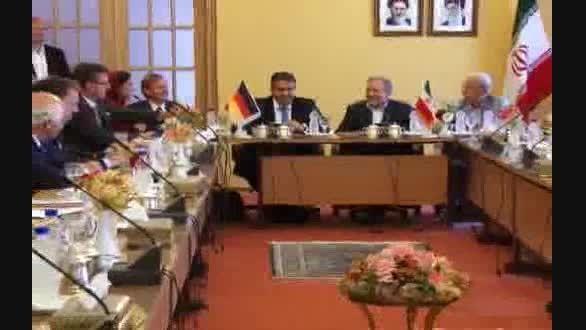 سفر معاون صدراعظم آلمان به اصفهان