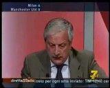 واکنش عجیب کارشناس طرفدار میلان در برنامه زنده تلویزیونی