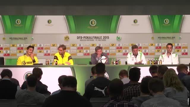 آخرین کنفرانس خبری یورگین گلوپ / قبل از فینال جام حذفی