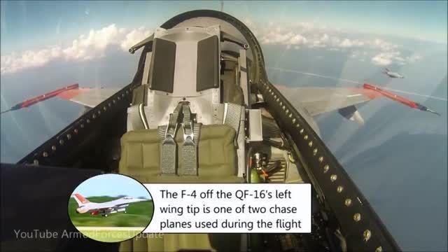 تست پرواز QF-16 بدون خلبان توسط بوئینگ