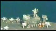 عکسبرداری از ناوهای جنگی آمریکا توسط پهپادهای ایرانی!!!