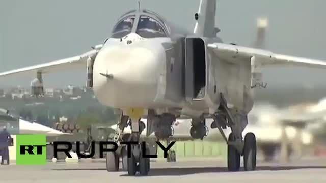 نیروی هوایی روسیه تشدید حملات هوایی علیه داعش در سوریه