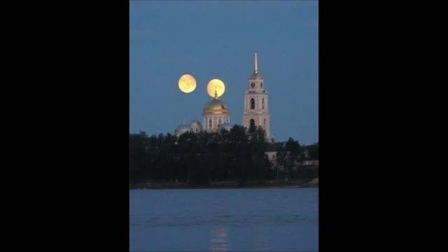 5شهریورقراره ماه ومریخ باهم دیده میشوند توضیحاتو بخونین