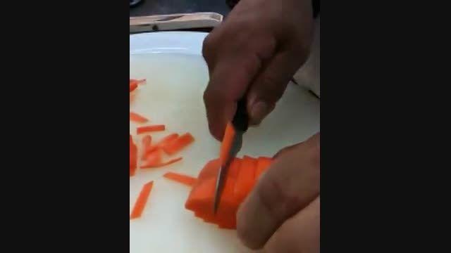 طرز تهیه گل از هویج