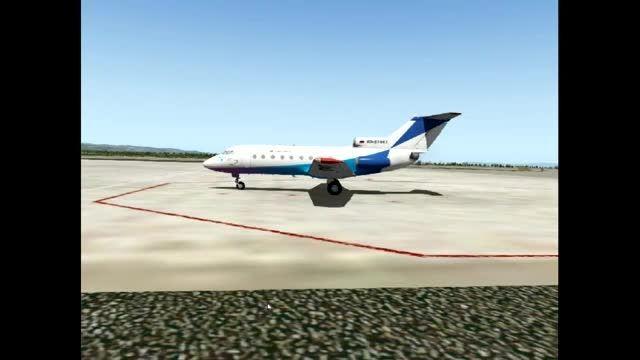 هواپیمای یاک 40 ،یکی از برترینهای شبیه ساز پرواز