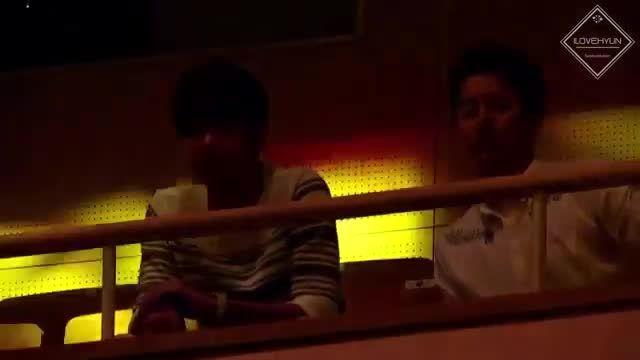 کیم کیوجونگ و کیم هیونگ جون در فن میتینگ هئو یونگ سنگ:)