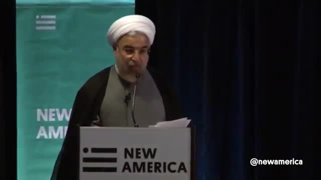 دکتر روحانی : شعار مرگ بر آمریکا برای مردم آمریکا نیست