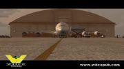 بزرگترین هواپیمای مسافربری جهان در شبیه ساز