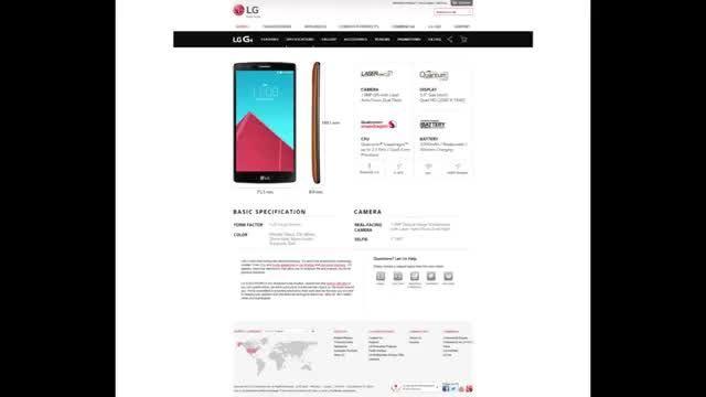 تمام جزییاتی که در رابطه با گوشی LG G4 باید بدانید