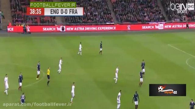 خلاصه بازی انگلیس 2 فرانسه 0