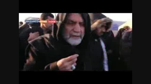 اشک های سردار حسین همدانی در اربعین