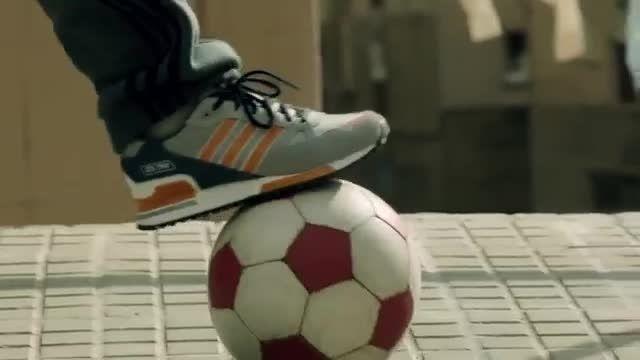 فوتبال خیابانی کودکان با لیونل مسی