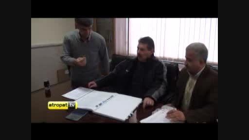 ویدیو ثبت قرارداد تونی اولیویرا با تراکتورسازی