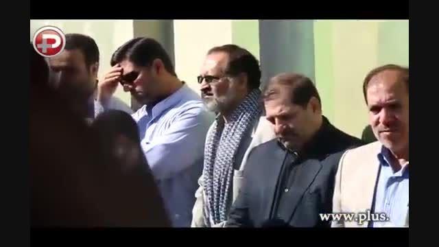 وداع تلخ مردم ایران با مردی که به خاطر دفاع از خاک و نا