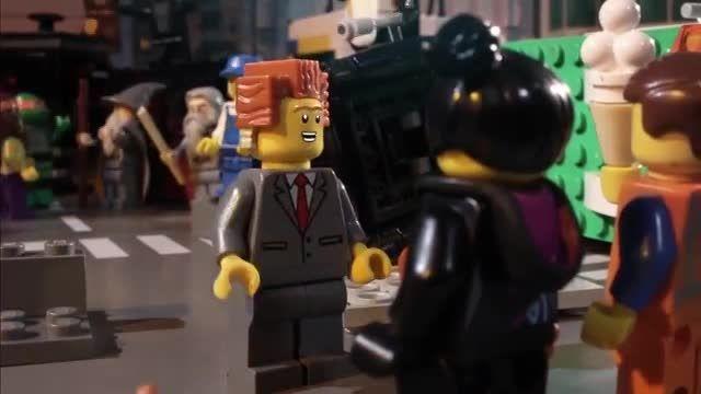 انیمیشن the lego movie  چگونه باید پایان می یافت