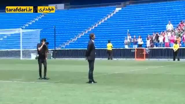 خداحافظی کاسیاس با هواداران رئال مادرید