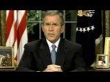 سخنرانی جورج دبلیو بوش پس از واقعه یازده سپتامبر