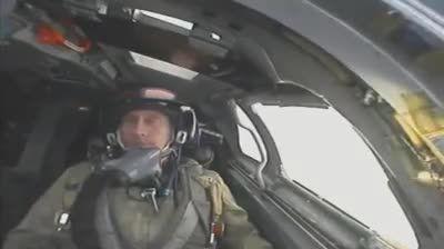 پوتین در حال خلبانی با سوخو 24(فنسر)!!!!