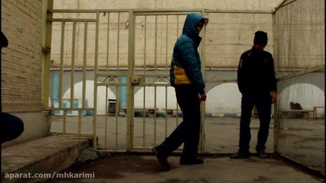 پشت صحنه فیلم کوتاه دزد