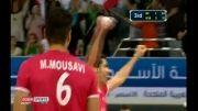 قهرمانی والیبال ایران از زبان گزارشگر اماراتی
