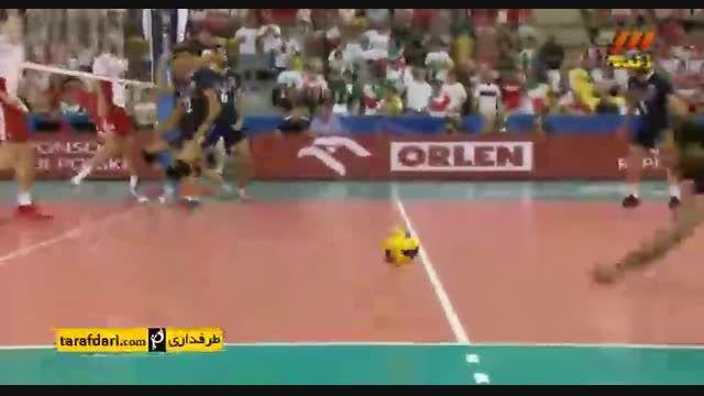 لهستان 3-1 ایران؛ لیگ جهانی والیبال