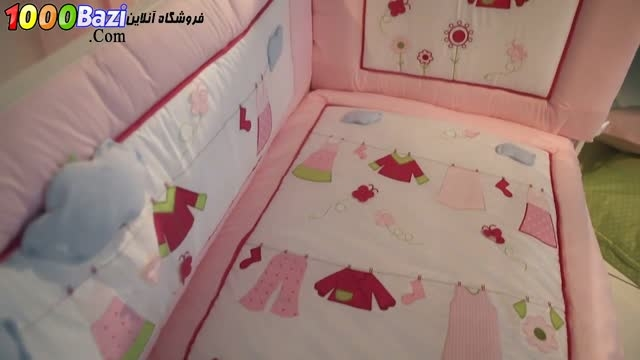 ست لحاف تشک روتختی نوزاد Aybi Baby